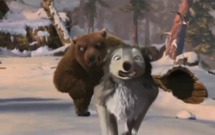 3d动画片《丛林有情狼》发布新片段