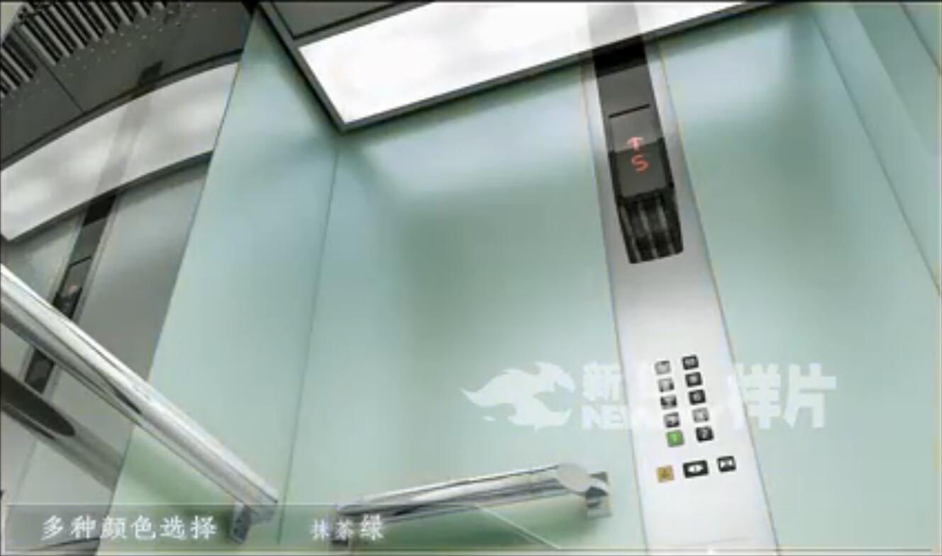 升降梯三维演示动画截图